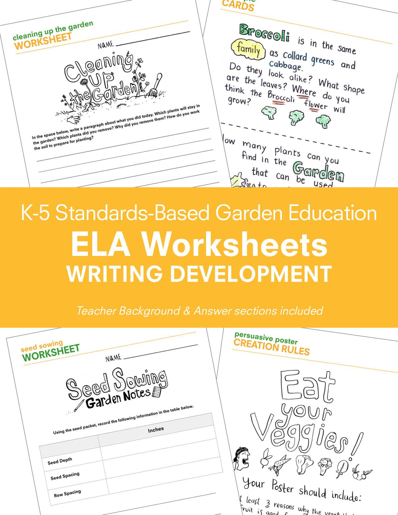 Teacher Resources Worksheets Amp Guides For Writing