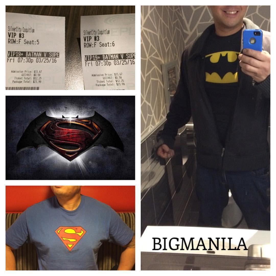Loved #batmanvsuperman I was fully entertained. Good job #DC  #BIGMANILA #geek #geekster #dork #superman #wonderwoman #TheCollectorsLens #justiceleague #comics #cosplay #DCU
