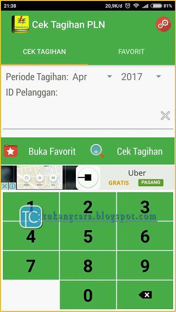 Pin Di Cek Tagihan Listrik Sudah Dibayar Atau Belum Online Lewat Hp Dengan Aplikasi