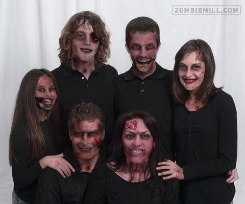 Zombie family pics