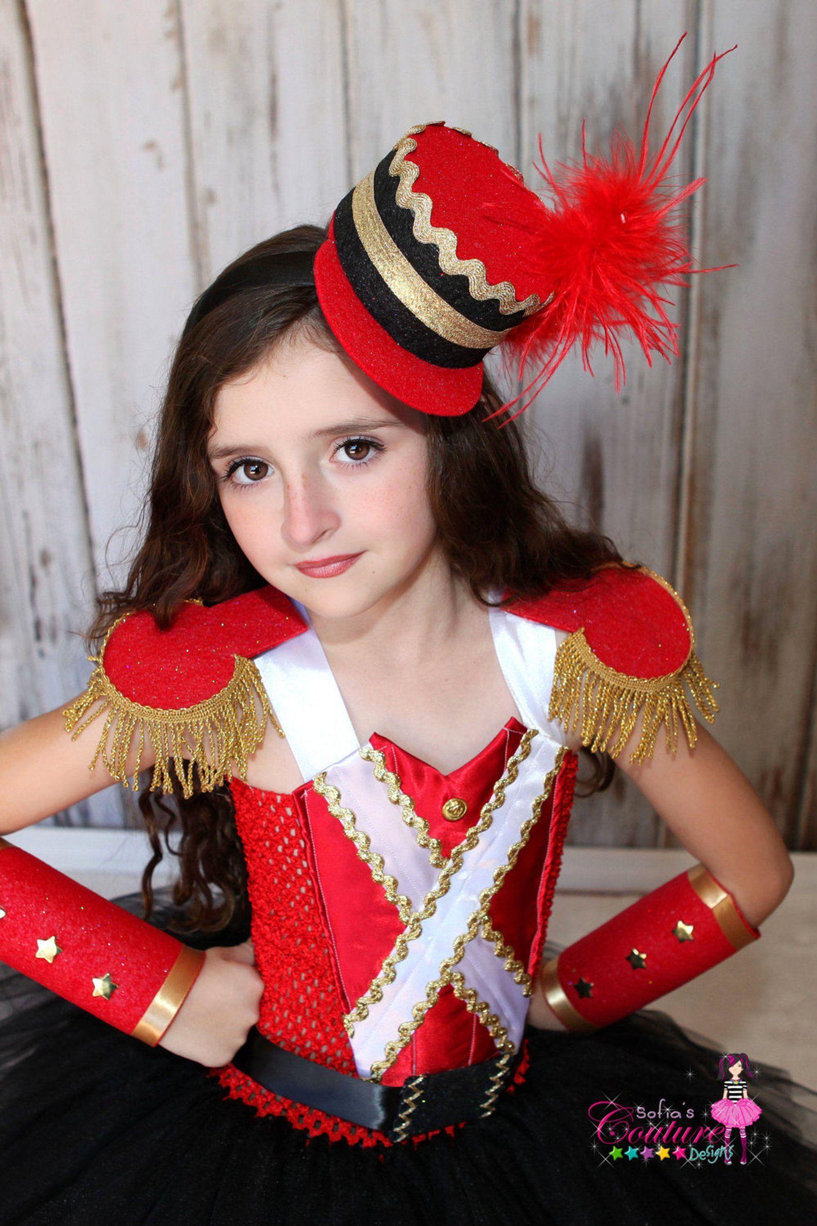 Nutcracker inspired tutu costume in red black & gold Cavaler