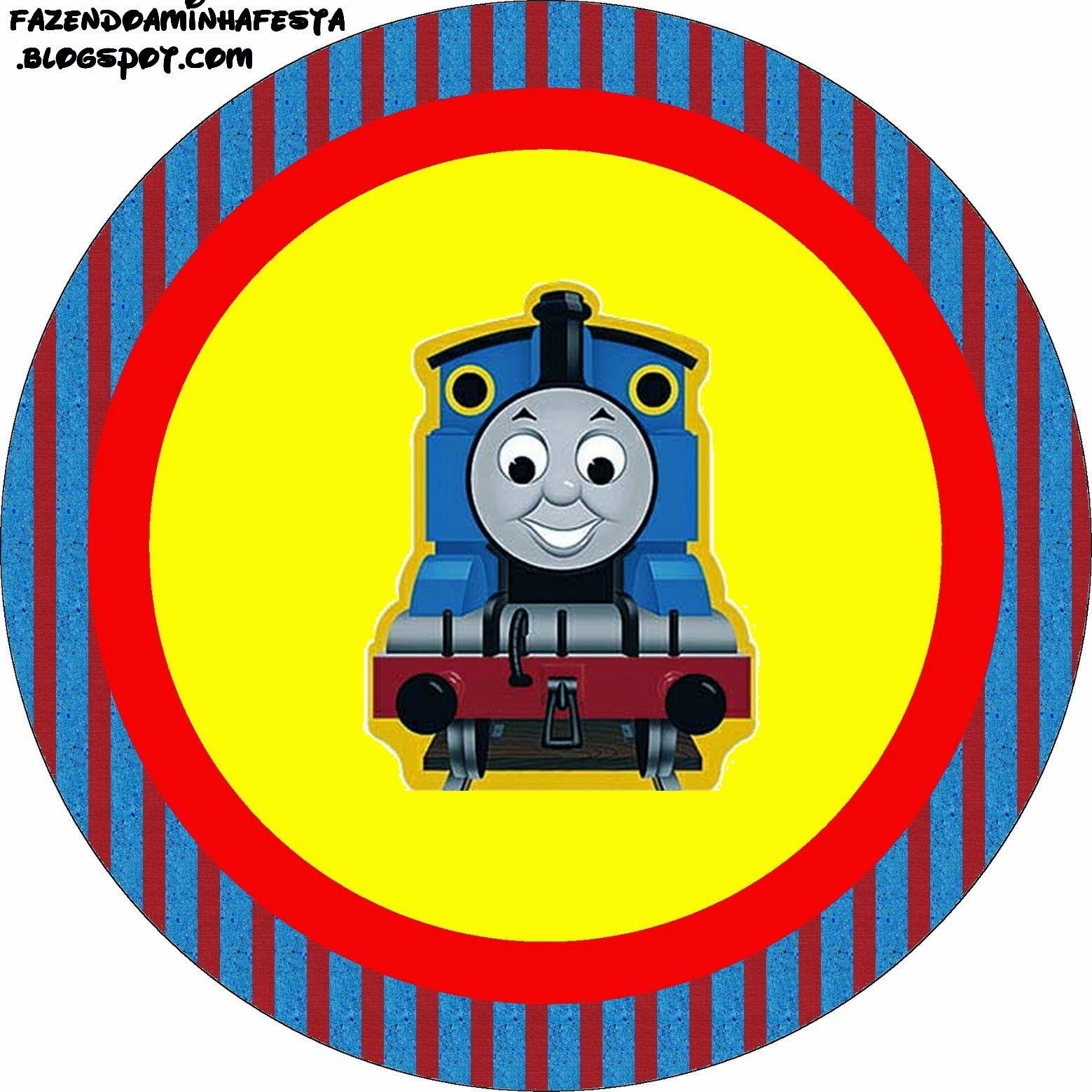 Thomás el Tren: Etiquetas para Imprimir Gratis.   thomas   Pinterest ...