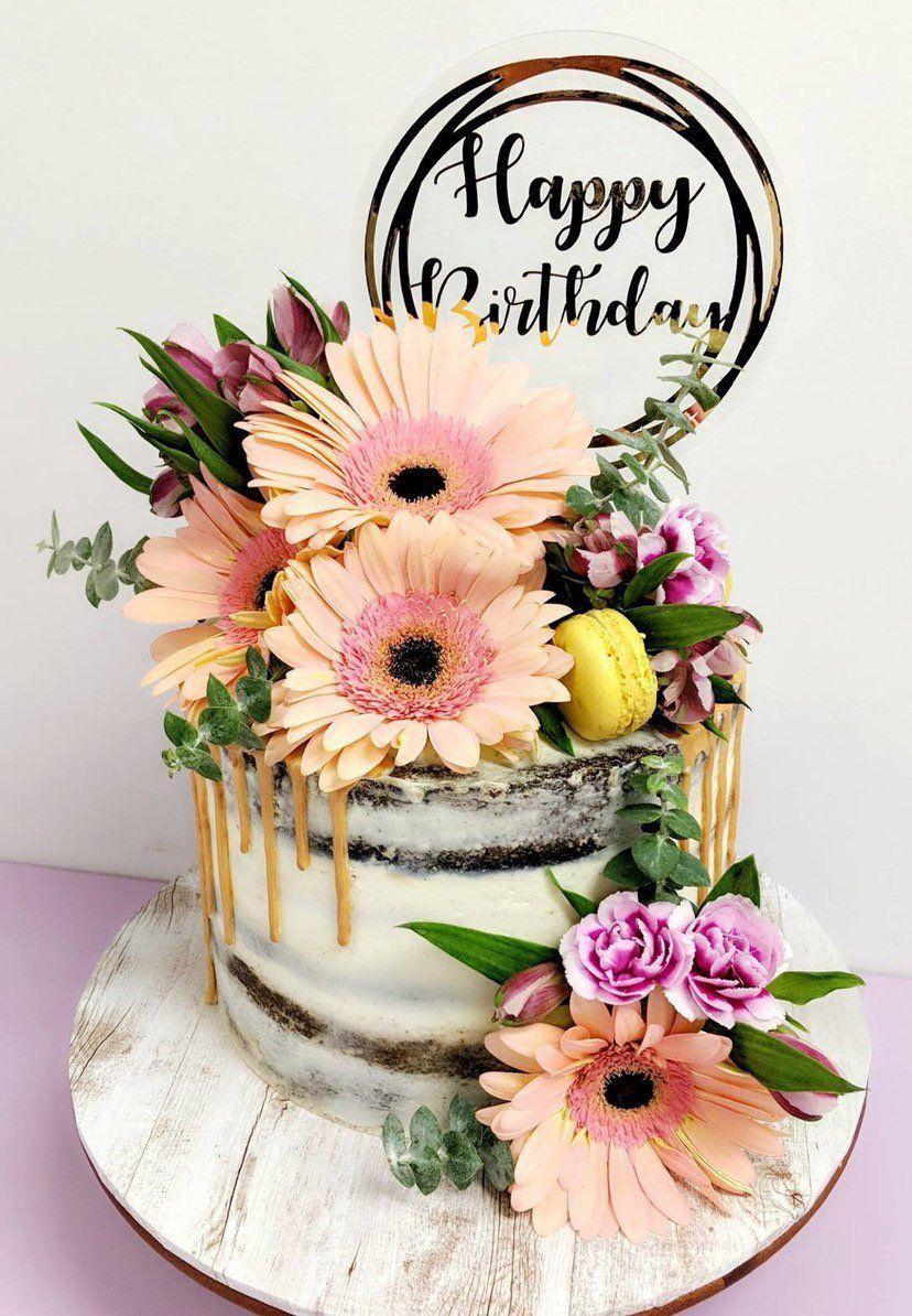 Cake Topper Birthday Cake Topper Acrylic Cake Topper