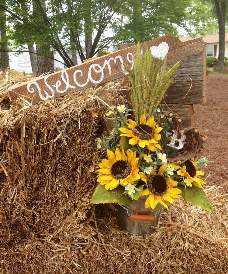 Photo of Samle inspirasjon til en vakker sommerdekorasjon med solsikker!