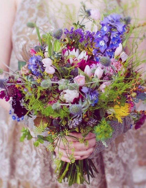 Bouquet de mariage original en 35 idées pour une journée de rêve