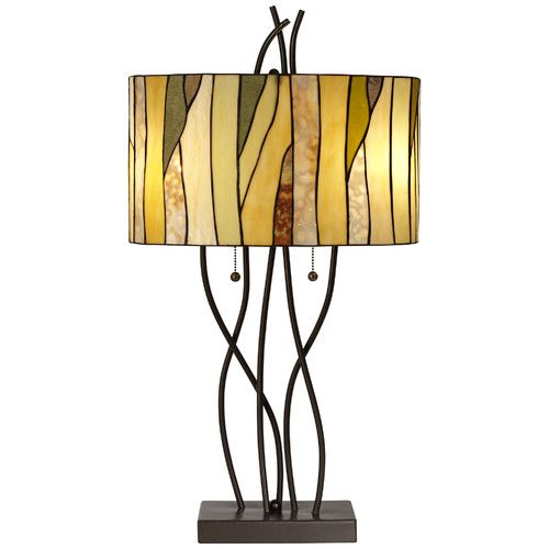 Highfill 21 Quot Table Lamp Stained Glass Table Lamps