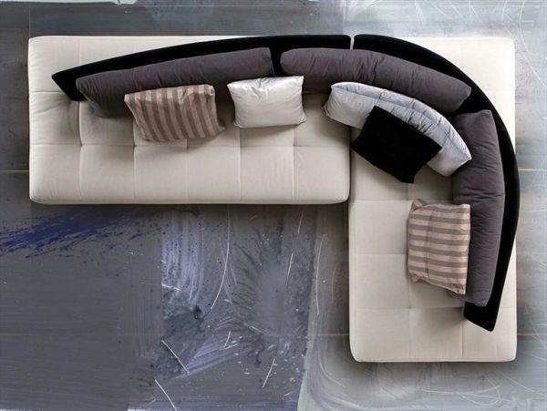 The 'Conversation' sectional sofa by Giorgio Soressi ...