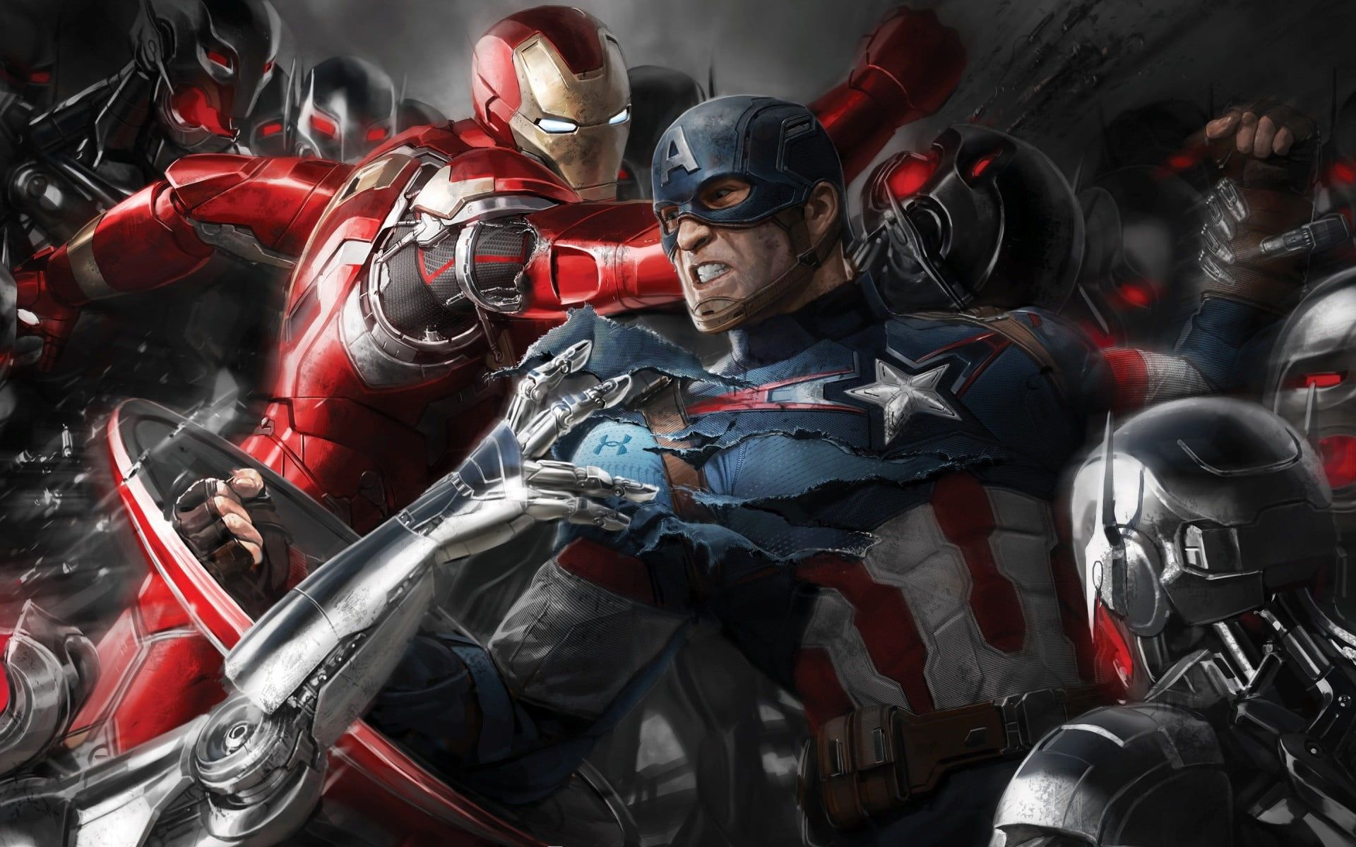 Captain American And Iron Man Illustration Iron Man Captain America The Avengers Avengers Age Of Ultron Marvel Co In 2021 Avengers Marvel Avengers Funny Age Of Ultron