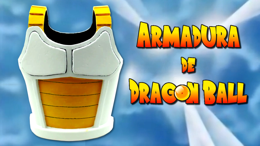 Armadura de Dragon Ball hecha con materiales reciclados | Manualidades