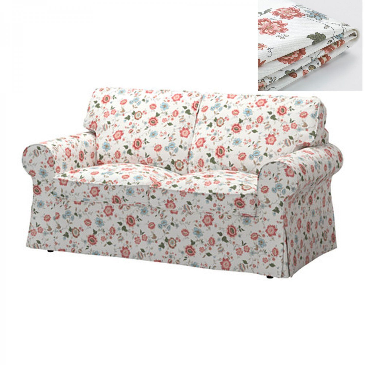 Incredible Ikea Ektorp 2 Seat Loveseat Sofa Cover Slipcover Videslund Gmtry Best Dining Table And Chair Ideas Images Gmtryco