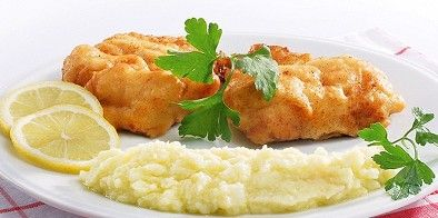 #bakaliaro #skordalia #greek #recipe, the salted fritted cod with potato garlic mash. http://agoragreekdelicacies.co.uk/greek-recipes/4590645102