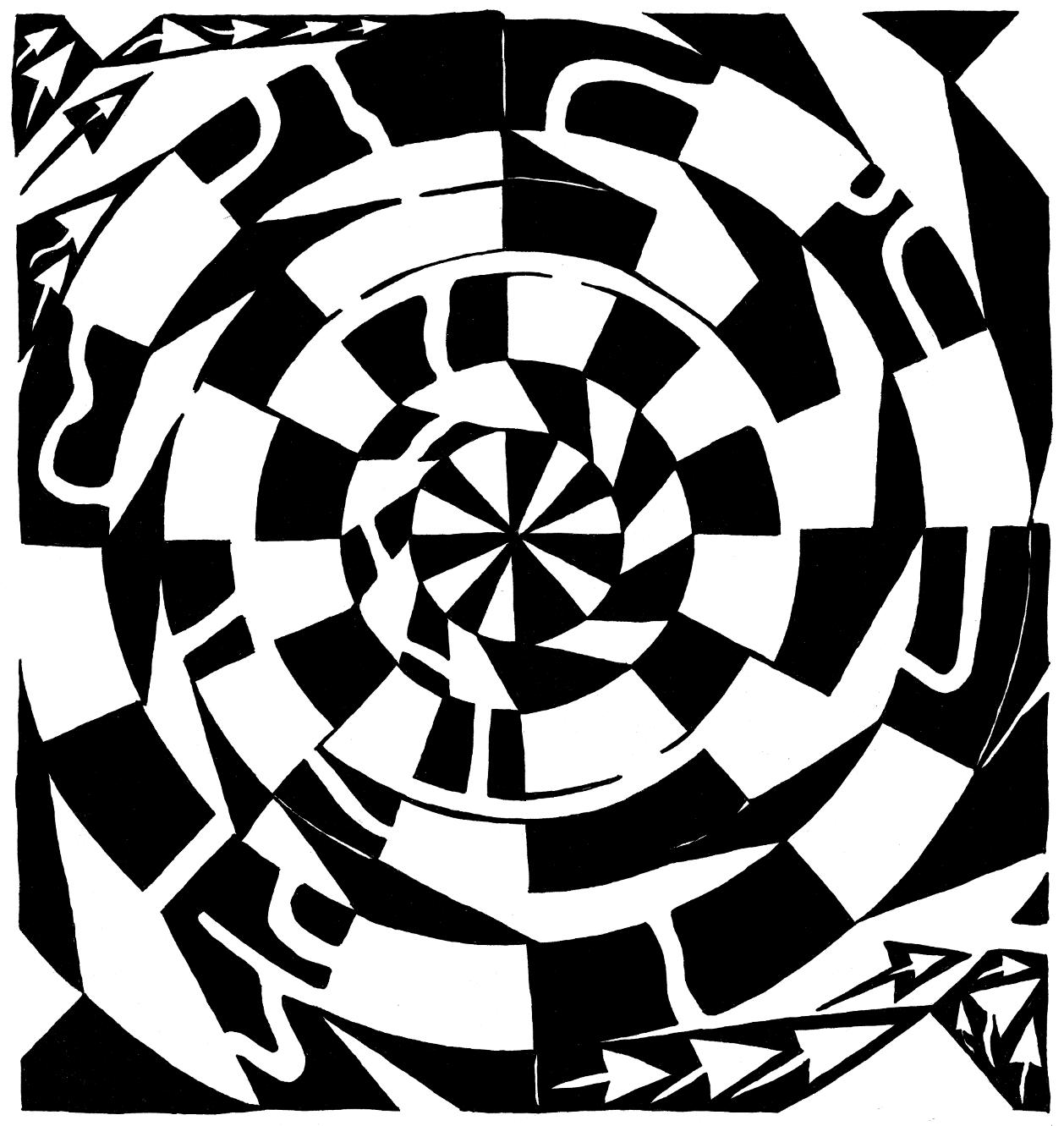 illusions vortex optical