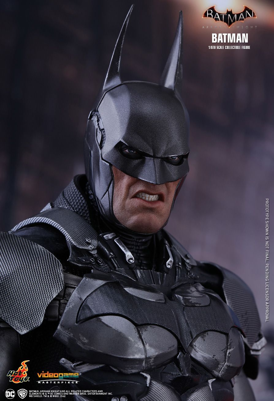 Check Out The Hot Toys Vgm26 Batman Arkham Knight 1 6th Scale