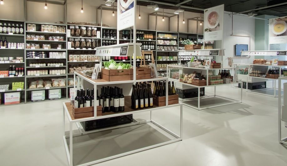 Retail design shelves staat creative agency for Retail interior design agency london