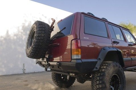 Mojave Tire Carrier Bumper Jeep Cherokee Xj Rear Bumpers