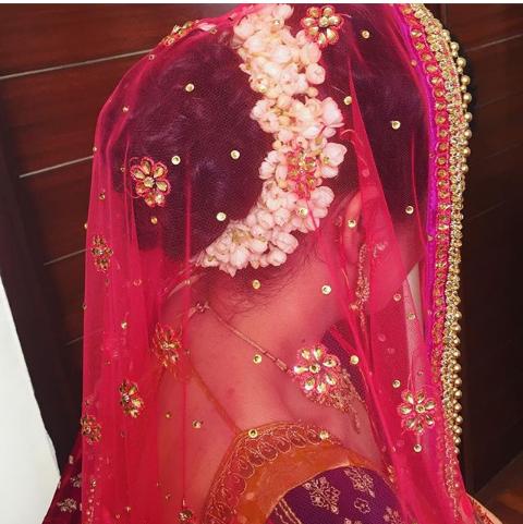 Jura With Gajra Classic Bridal Hair Bridal Bride