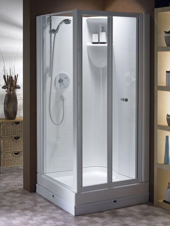 3 piece shower stalls from Oasis | Bathroom Ideas | Pinterest ...