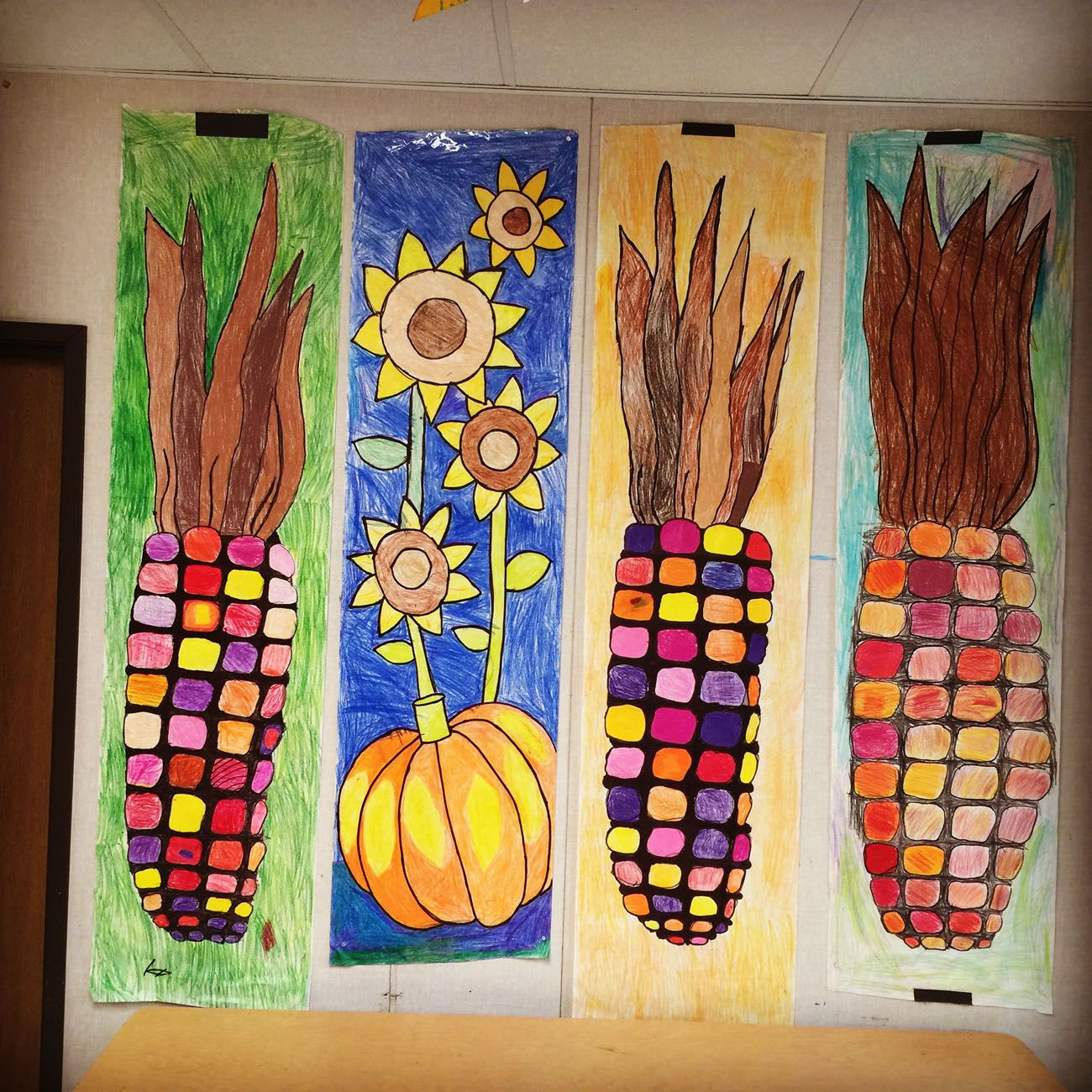Elementary Fall Art Project Ideas