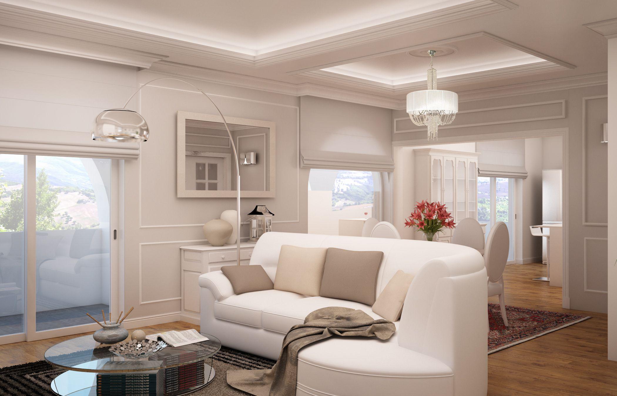 Progetto Soggiorno ~ Rendering soggiorno rendering living room progetto d interni