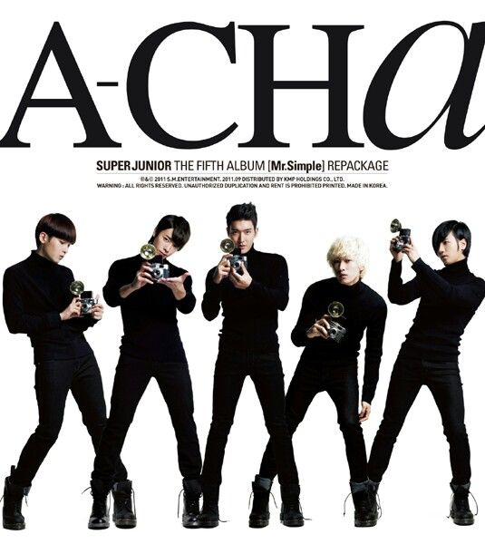 Super Junior A-CHA Cover album [110914]