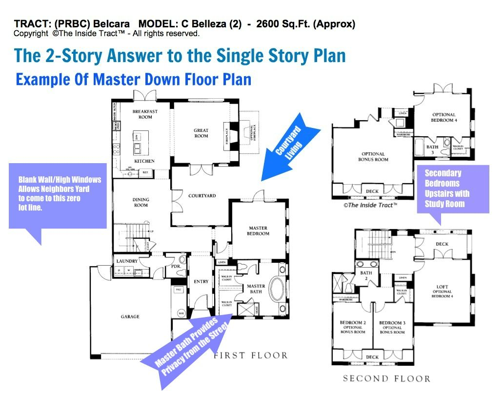 Floor plans make a real difference in how a home lives. I was in the homebuilding industry for 30-years and have worked with the best land planners and architects. In most cases I can provide you with the floor plan of a home of interest and advise you of how it lives, how it fits on the lot - its advantage and disadvantages.