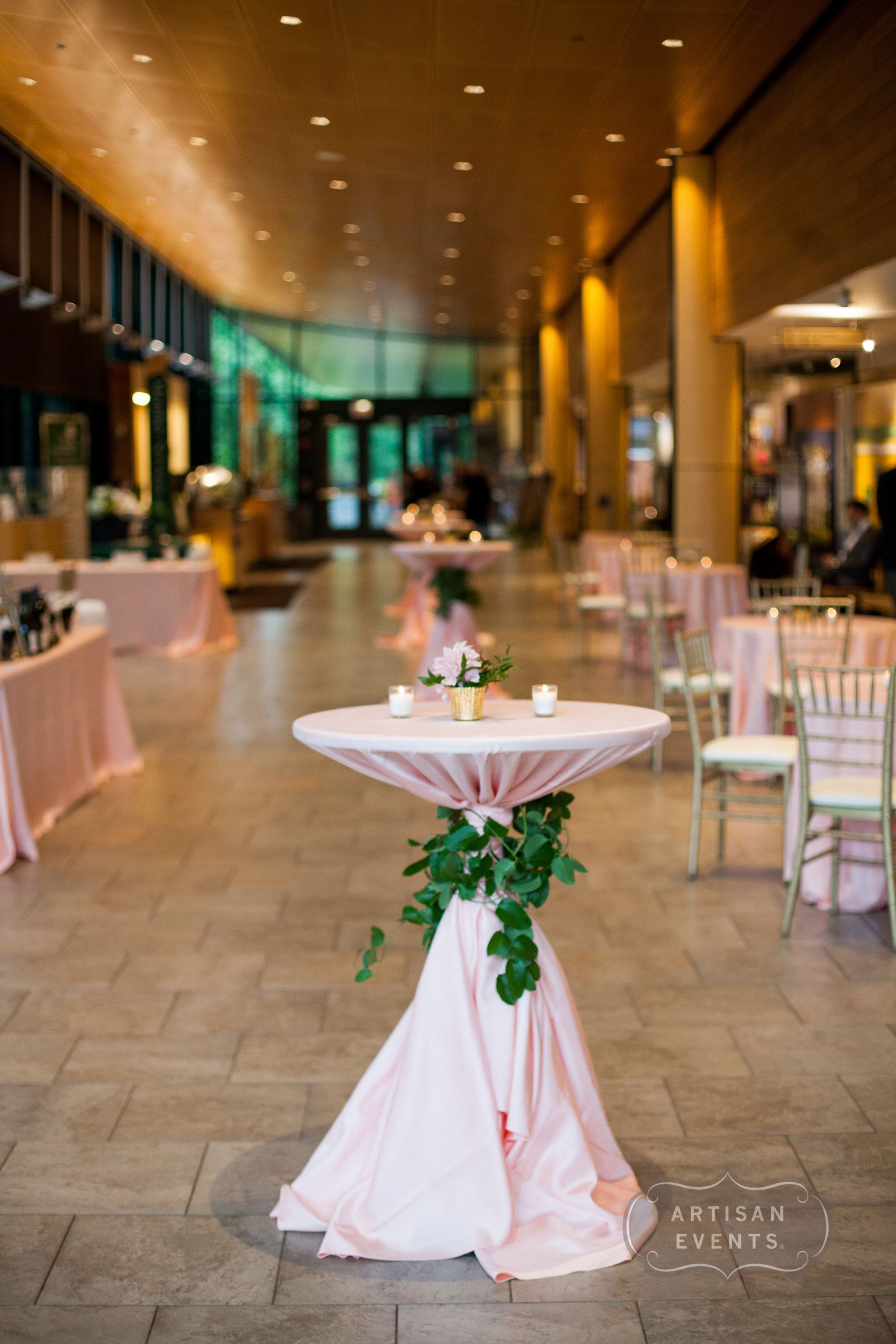 Wedding Cocktail Hour Morton Arboretum Wedding