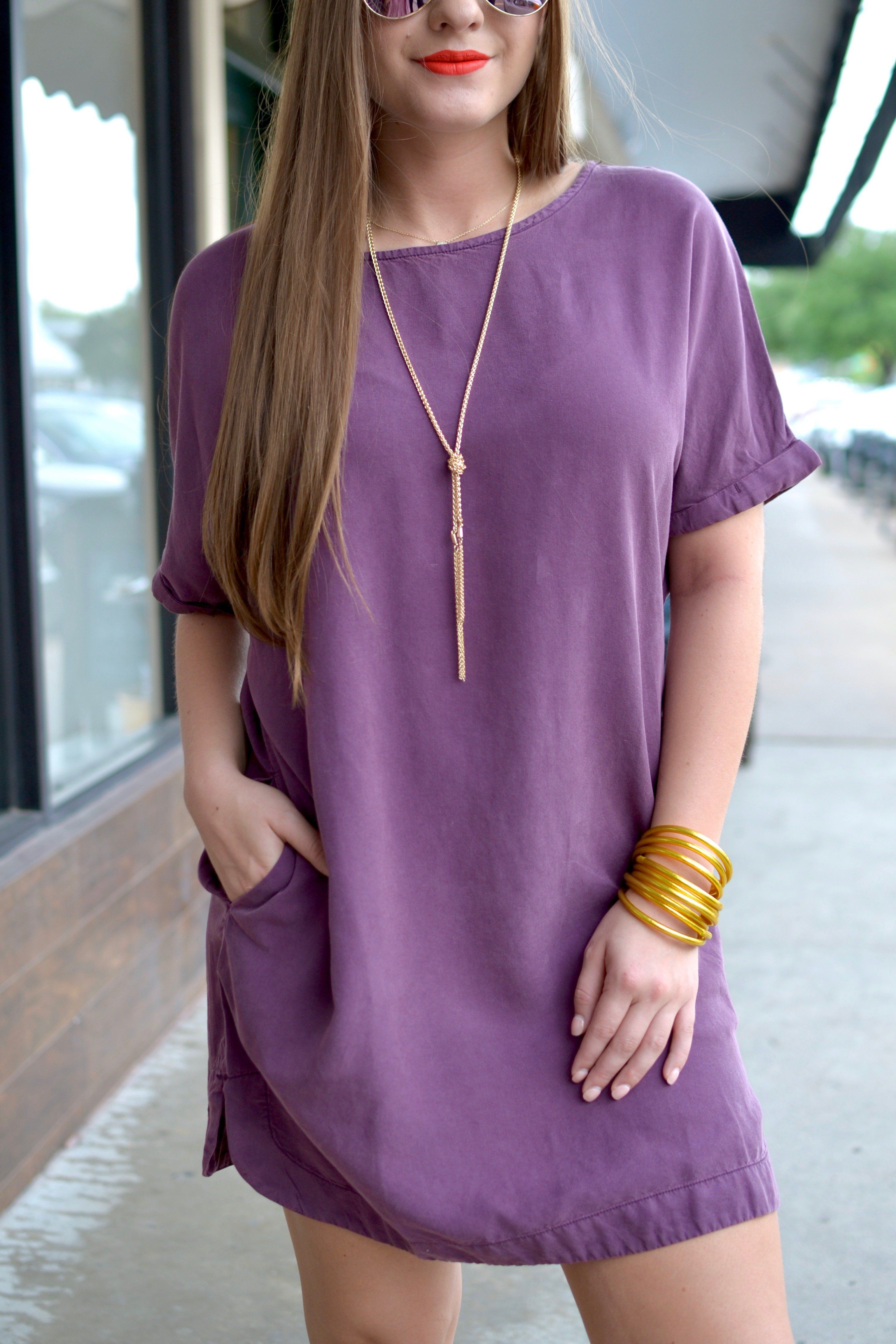 Falling for you dress eggplant in blogger style pinterest