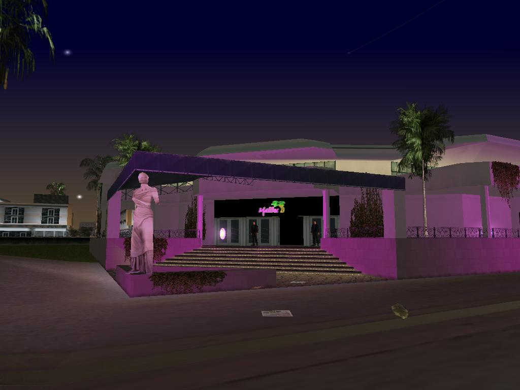 Malibu Club In Vice City City Club Miami Vice City