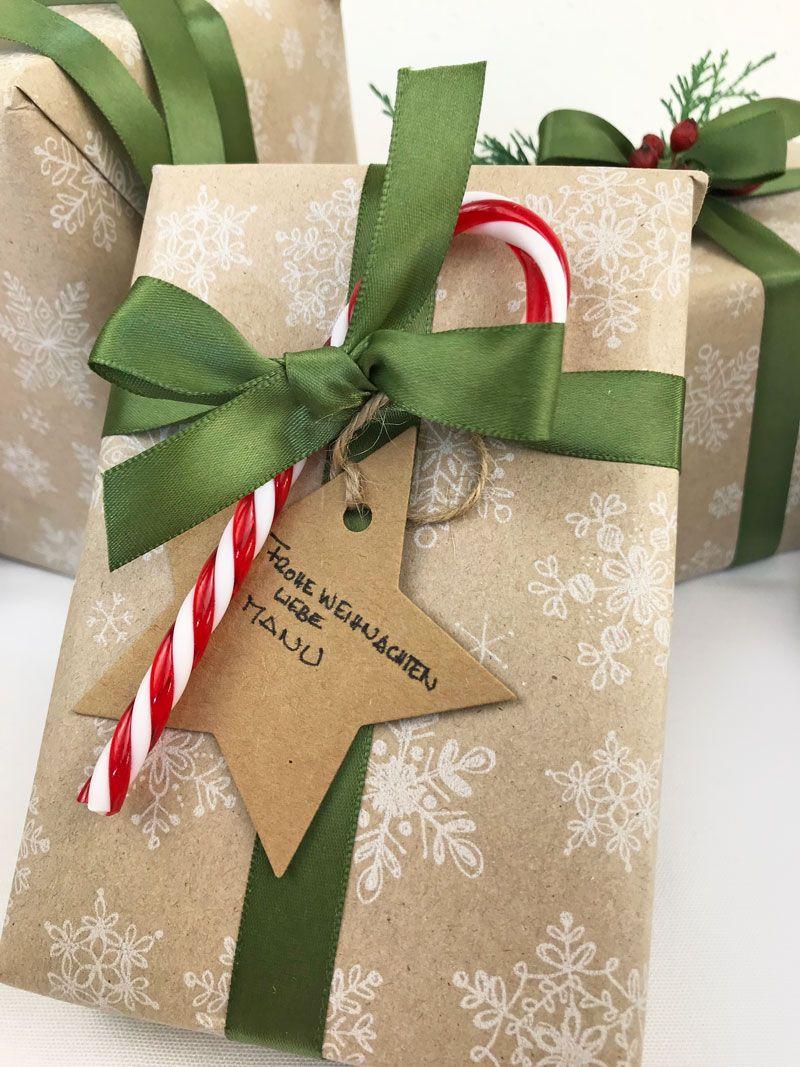 Geschenkverpackung Ideen Weihnachten, gift wrapping ideas for Christmas