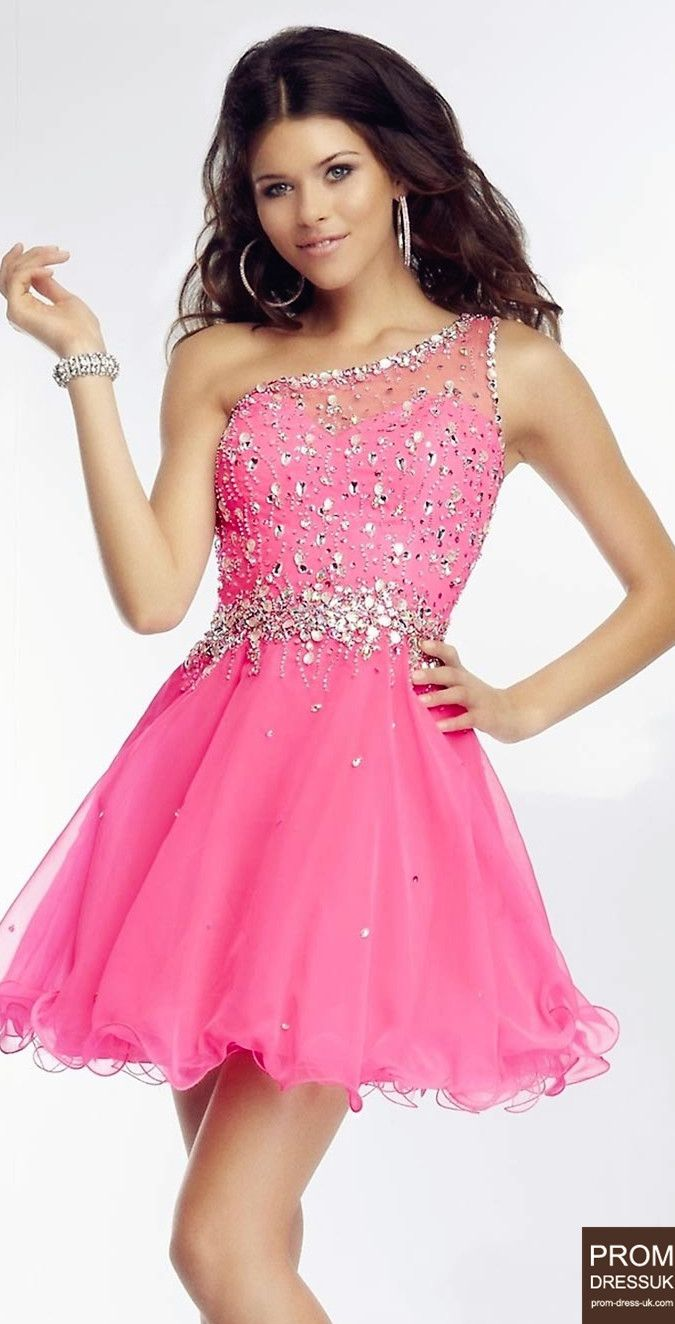 Pink short prom dress pink fashion pinterest pink shorts