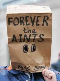 """Disgruntled New Orleans Saints fans called their team """"the Aints ..."""