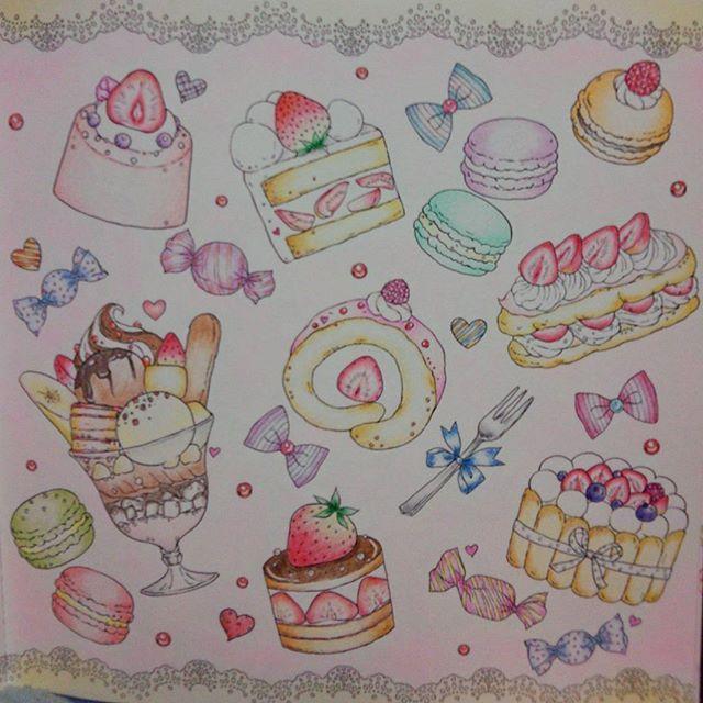 Instagram Media Junjuunc4467 苦手食べ物系д 大人の塗り絵