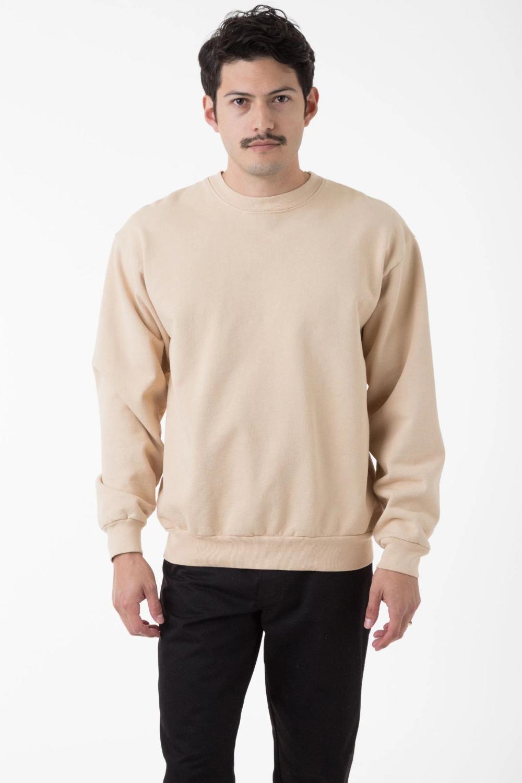 Hf07gd 14oz Garment Dye Heavy Fleece Pullover Crewneck Sweatshirt Crew Neck Sweatshirt Fleece Pullover Garment Dye [ 1500 x 1000 Pixel ]