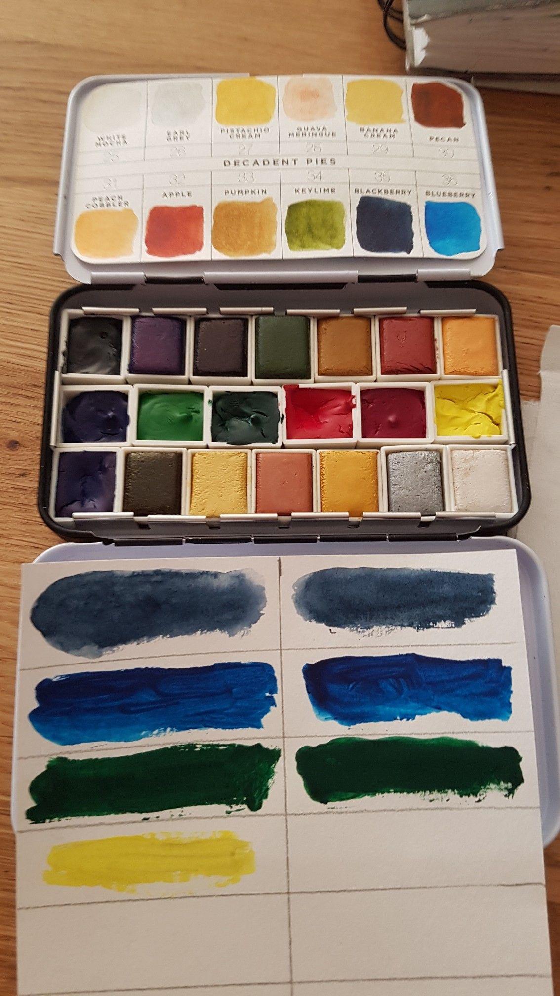 Ma Palette Aquarelle De Couleurs Prima Wartercolor Decadent Pies