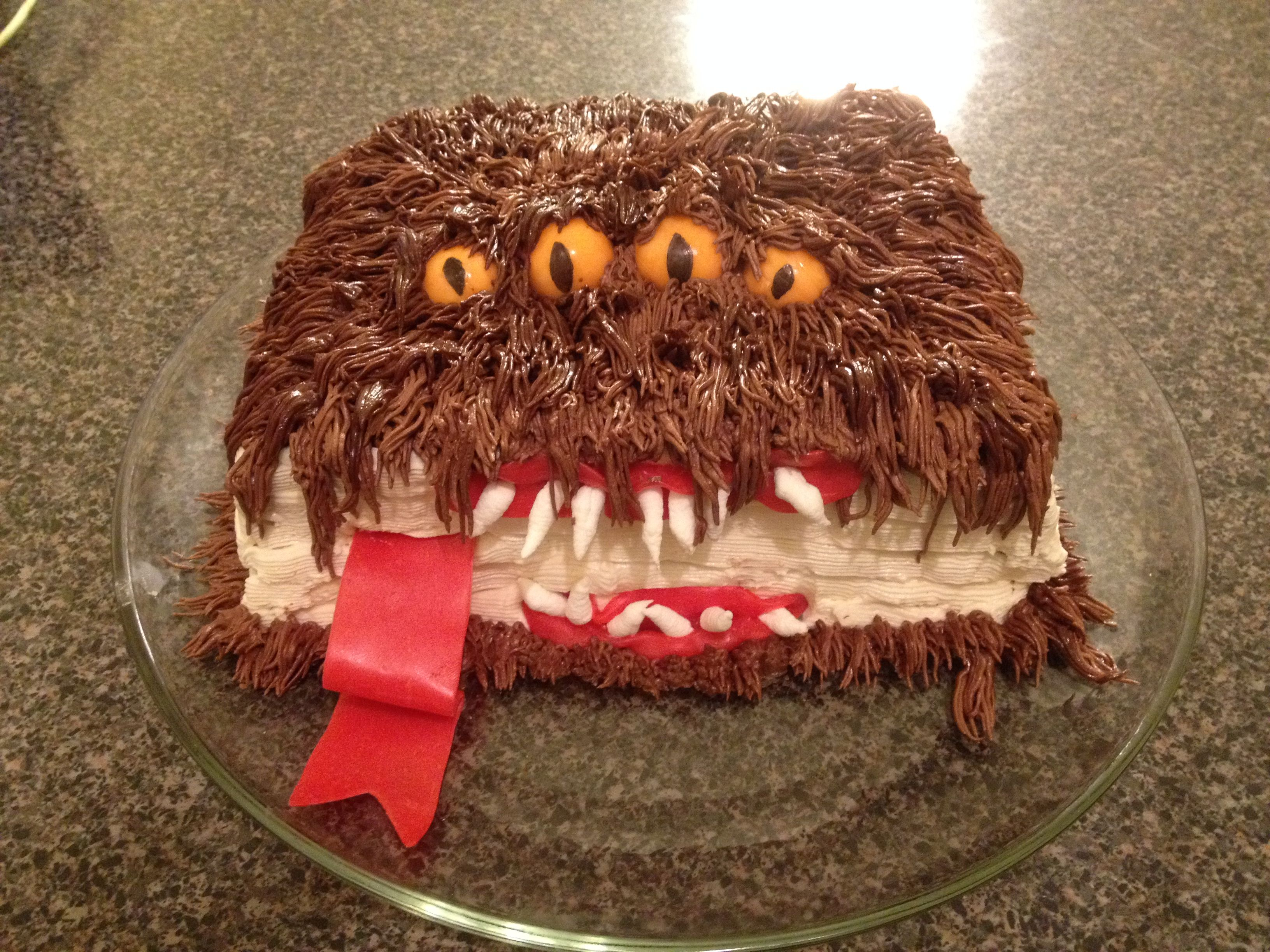 the monster book of monsters cake from harry potter i made this for my son 39 s 6th birthday i. Black Bedroom Furniture Sets. Home Design Ideas