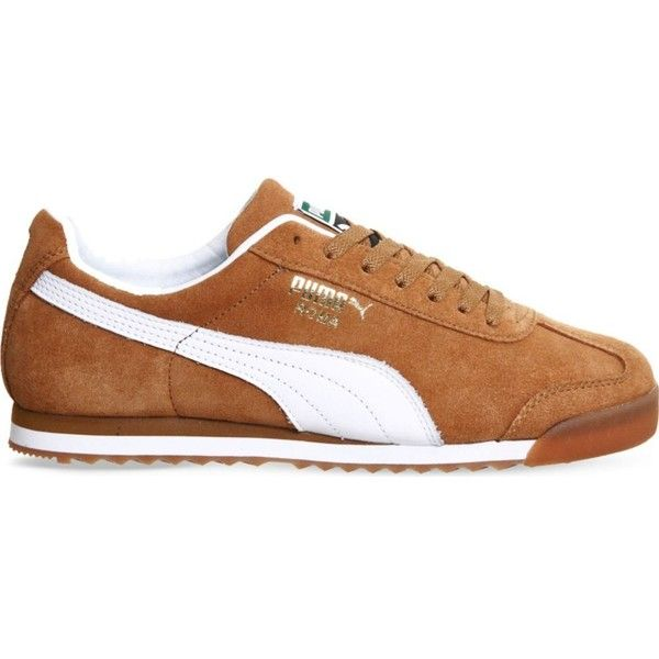 PUMA Roma suede trainers | Suede shoes