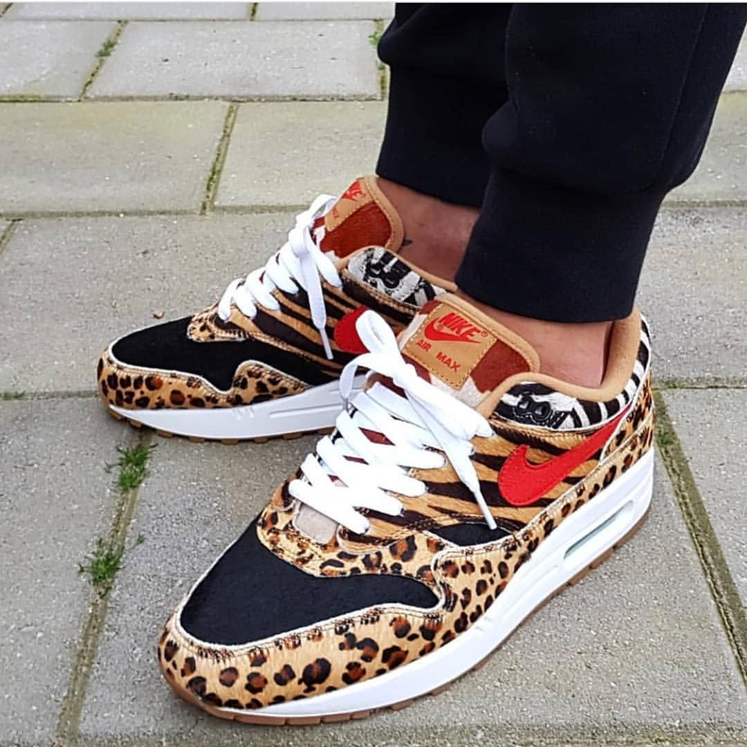 "Nike Air Max 1 ""Animal 2.0"" by @djamesandrew #nike #air #max"