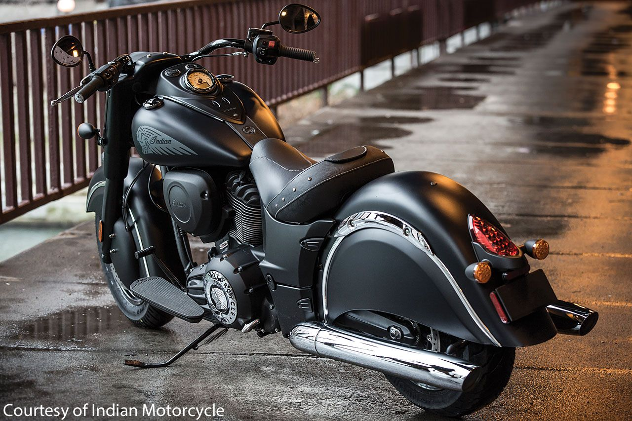 Meet indian motorcycles first model of 2016 indian chief dark - In Photos 2016 Indian Motorcycles Chief Dark Horse