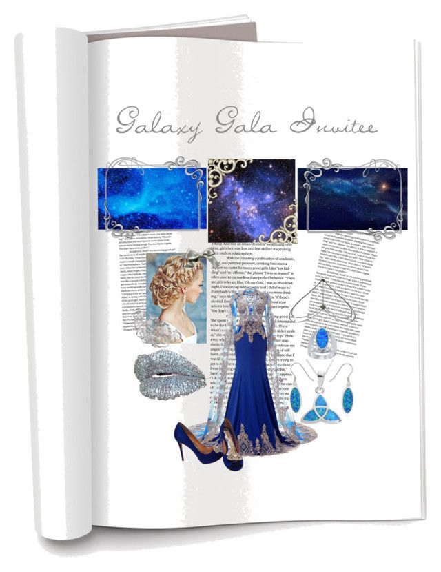 """""""Gala Invitee"""" by adele-h-pocketbook ❤ liked on Polyvore featuring La Preciosa, Badgley Mischka, Bug, Journee Collection, Quoizel and starwars"""