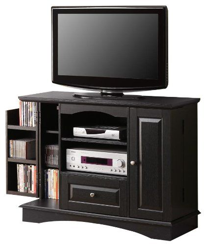 Bedroom Tv Console: Walker Edison 42-Inch Bedroom TV Stand Console With Media