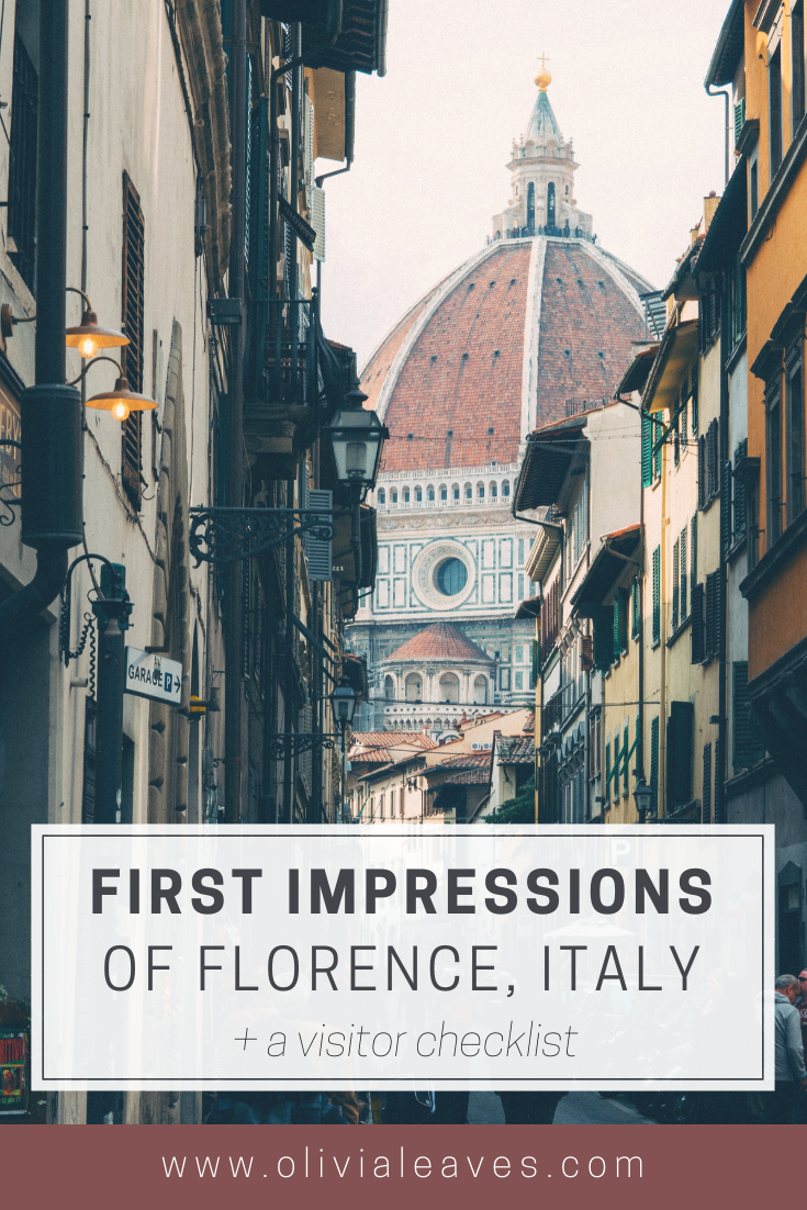 A First Time Visit To Florence Italy Visit Florence Italy Visit Italy