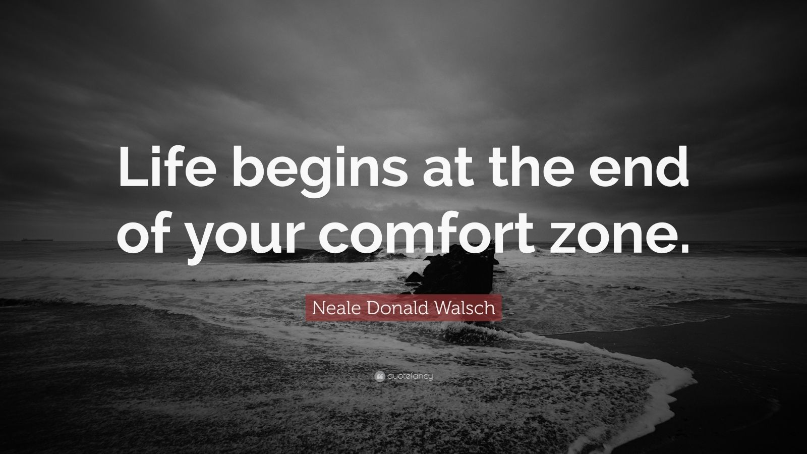 "Inspirational Quotations About Life Motivational Quotes ""Life Begins At The End Of Your Comfort Zone"