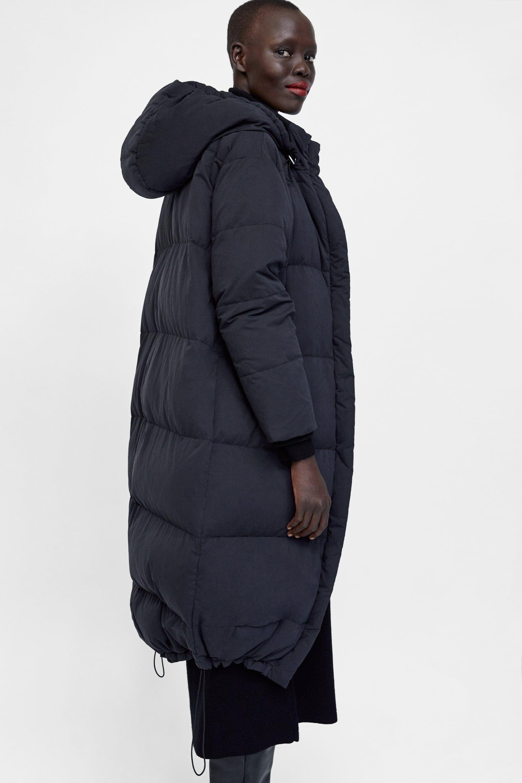 2b93b3b5 Image 6 of OVERSIZED DOWN COAT from Zara | fashionkills | Down coat ...