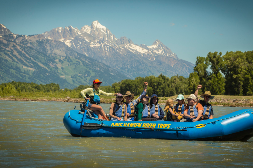 Jackson Hole Wyoming Scenic Float Trips, Smooth Water