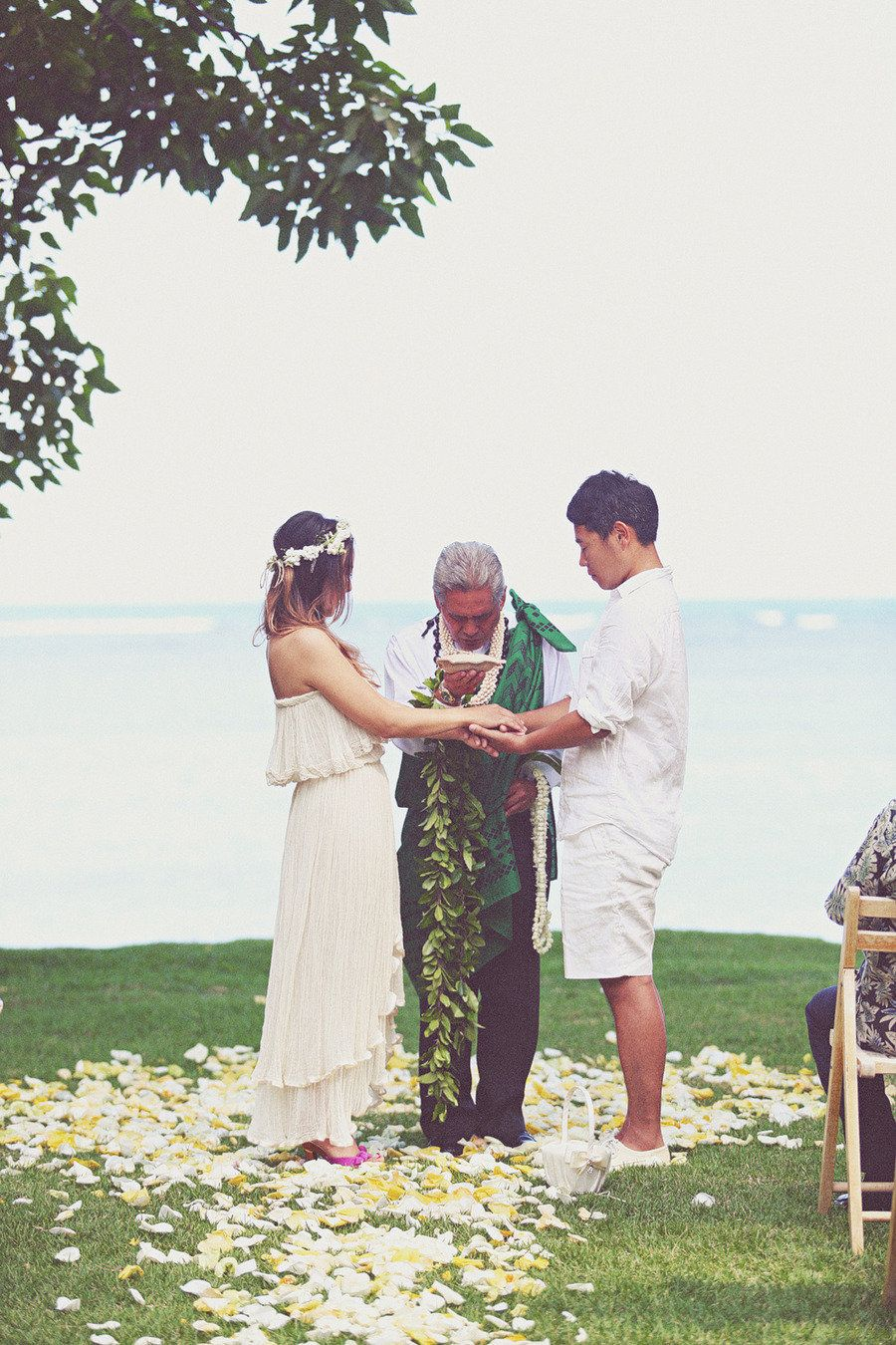 Hawaii Wedding at The Bayer Estate from Beloved Photo Boutique  Read more - http://www.stylemepretty.com/destination-weddings/2012/11/30/hawaii-wedding-at-the-bayer-estate-from-beloved-photo-boutique/