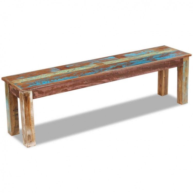 Stupendous Details About Solid Wooden Bench Antique Seats Handmade Onthecornerstone Fun Painted Chair Ideas Images Onthecornerstoneorg