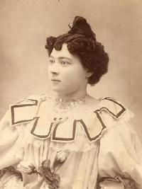Hairstyles typically stayed close to the head until the late 1890's, a tight twist at the top was very popular.