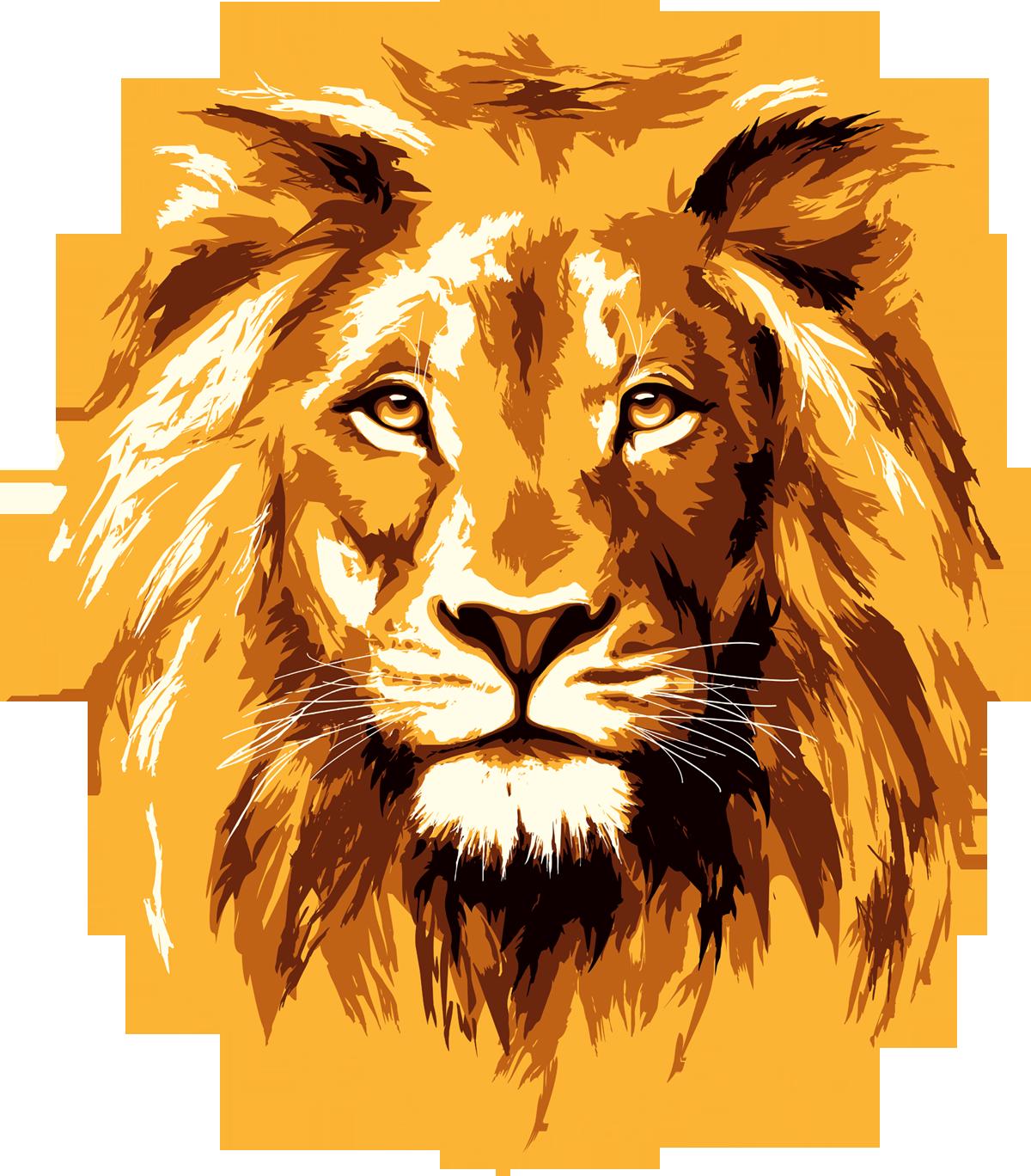 Рисунки про льва