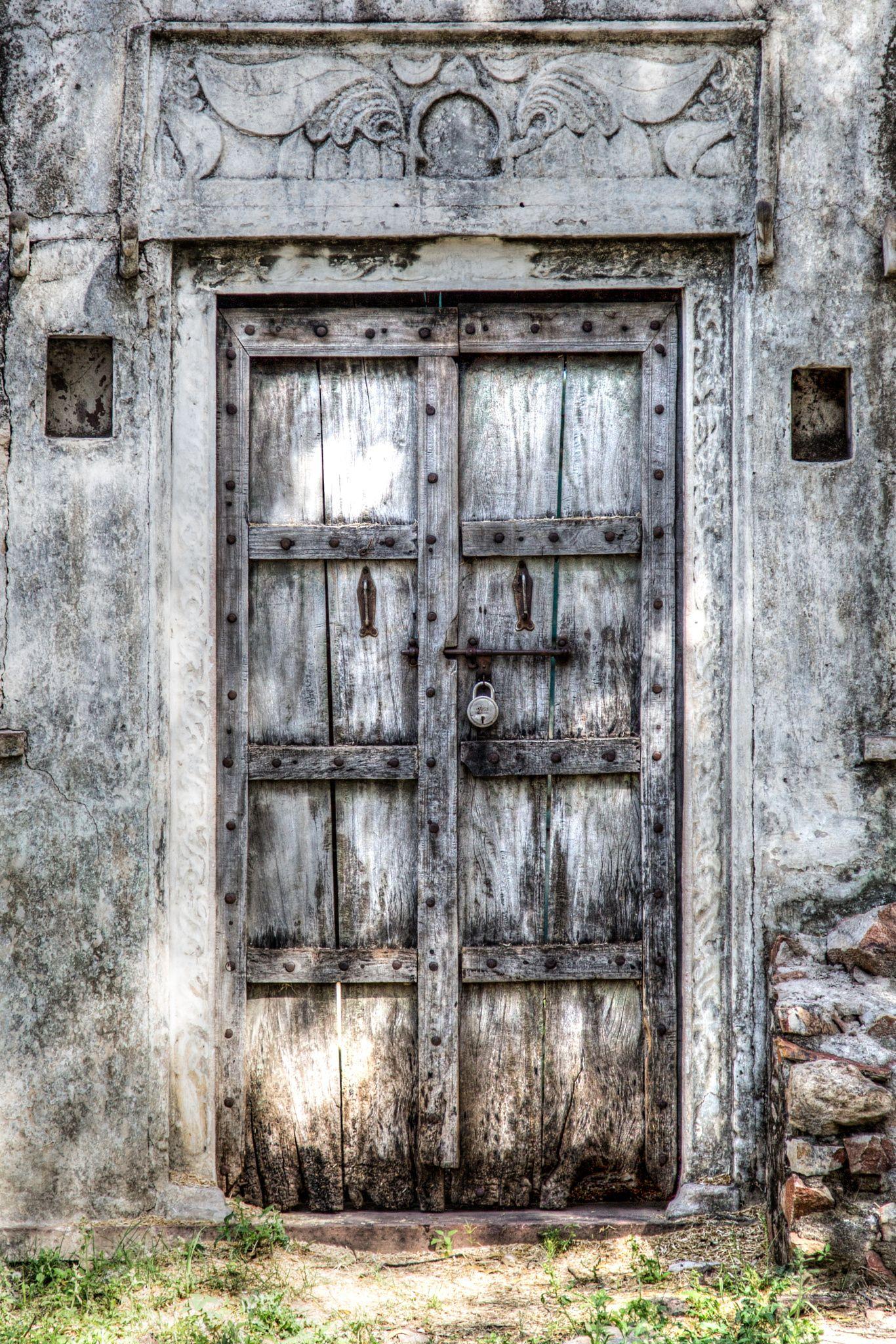 Door lock old doors doors country doors