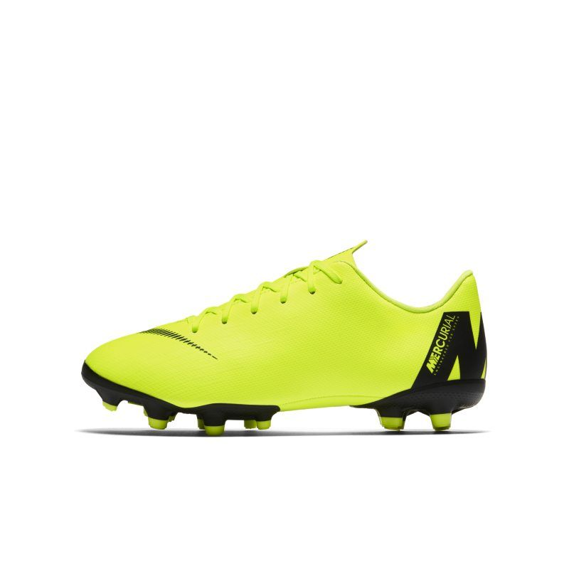 Nike Jr Mercurial Vapor Xii Academy Younger Older Kids Multi Ground Football Boot Yellow Soccer Cleats Football Boots Cleats